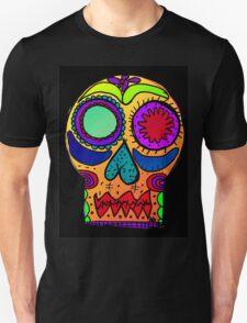 Dia de los Muertos , Day of the Dead - Sugar Skull c Unisex T-Shirt