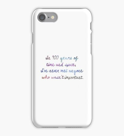Of Time & Space iPhone Case/Skin