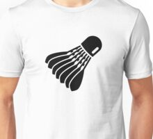 Badminton icon Unisex T-Shirt