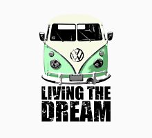 VW Camper Living The Dream Green Unisex T-Shirt