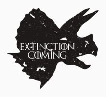 Extinction Is Coming (Game Of Thrones dinosaurs) by jezkemp