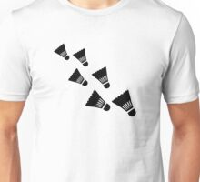 Badminton Shuttlecocks Unisex T-Shirt