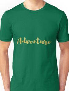 Adventure in Gold Unisex T-Shirt