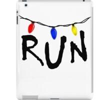 Stranger Things - RUN! iPad Case/Skin