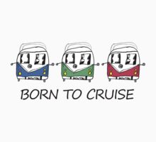 Born To Cruise VW Camper Kids Clothes