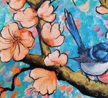 Amongst the Blossoms Sticker