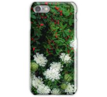 Berries and Lace iPhone Case/Skin