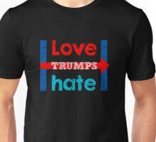 Hillary Clinton Love Trumps Hate Shirt and Design Unisex T-Shirt