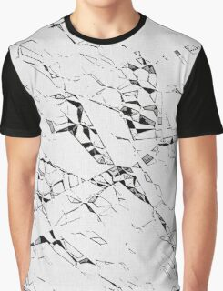 Cramped paper pattern Graphic T-Shirt