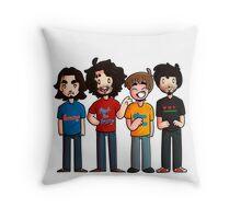 Game Grumps - Group Fanart Throw Pillow