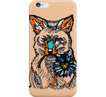 I am Your Foxy Love Flower iPhone Case/Skin