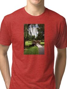 Weeping Willow Bridge Tri-blend T-Shirt