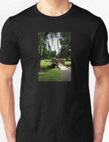 Weeping Willow Bridge Unisex T-Shirt