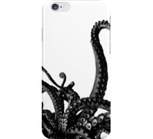 down here we all float! Black and white iPhone Case/Skin