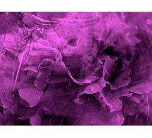 Purple Emotions - JUSTART © Photographic Print