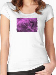 Purple Emotions - JUSTART © Women's Fitted Scoop T-Shirt