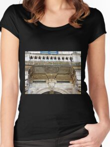 Post Office Decoration Women's Fitted Scoop T-Shirt