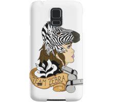 Team Zebra Samsung Galaxy Case/Skin