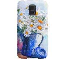 Daisies in a Blue Jug Samsung Galaxy Case/Skin