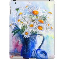 Daisies in a Blue Jug iPad Case/Skin