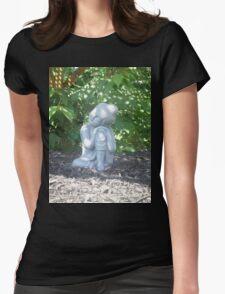 Baby Buddha Womens Fitted T-Shirt