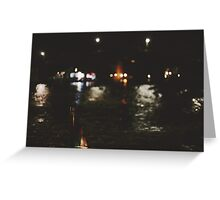 River Taxi Greeting Card