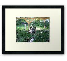 Zen Garden 2 Framed Print