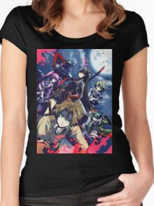 akame ga kill  Women's Fitted Scoop T-Shirt