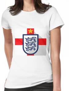 England B Womens Fitted T-Shirt