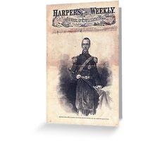 Harpers Weekly, August 30, 1862 Greeting Card