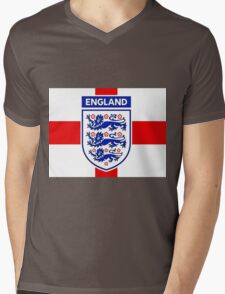 England 578 Mens V-Neck T-Shirt