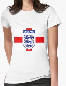 England 2 Womens Fitted T-Shirt