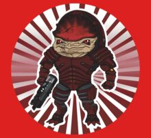 Urdnot Wrex Chibi Kids Clothes