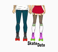 Skate Date - Female + Male Unisex T-Shirt