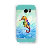 Pretty, Pretty Seahorse; Whimsical, Sea-life, Underwater, Ocean; Beach Samsung Galaxy Case/Skin