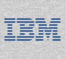IBM Blue Logo by twilightvomit