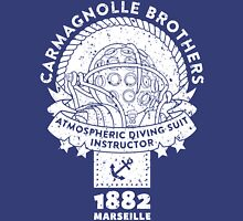 Atmospheric Diving Suite 1882 Instructor - White Unisex T-Shirt