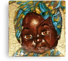 """""""Nothing to Fix"""" (African Baby Doll) Canvas Print"""