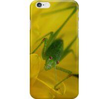 Speckled Bush-Cricket iPhone Case/Skin