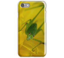 Speckled Bush-Cricket iPhone Case/Skin