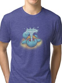 Gargling Squirtle Tri-blend T-Shirt