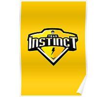 Team Instinct Sports Themed Logo Poster