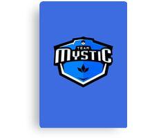 Team Mystic Sports Themed Logo Canvas Print
