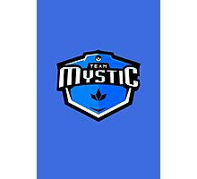 Team Mystic Sports Themed Logo Photographic Print