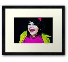 Jubilee Smile Framed Print