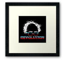 Bernie Sanders Revolution T-shirt Framed Print