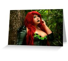 Poison Ivy Glance Greeting Card