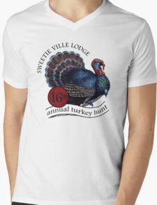 Turkey Hunt Mens V-Neck T-Shirt