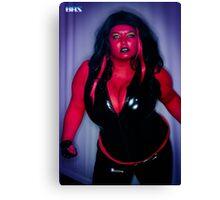 Red She Hulk  Canvas Print