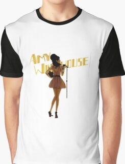 Amy Winehouse Graphic T-Shirt